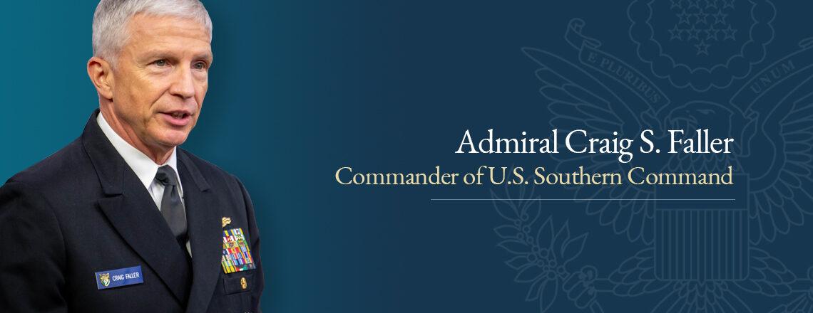 Admiral Craig S. Faller visits Uruguay