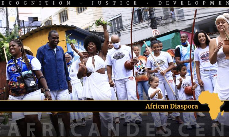 African Diaspora Graphic