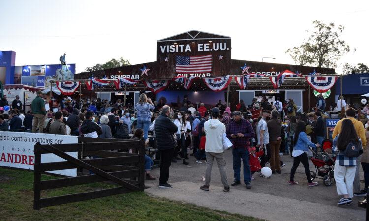 US Pavilion at Expo Prado 2021 in Montevideo