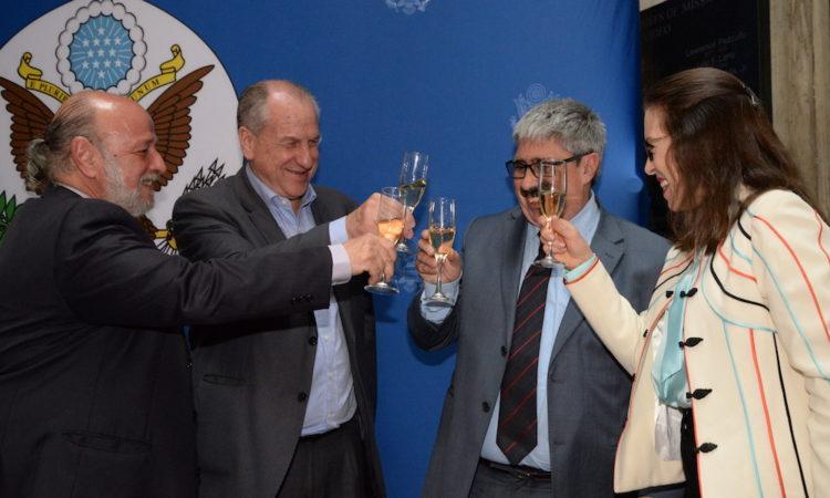 Brindis Convenio Seguridad Social Uruguay - Estados Unidos