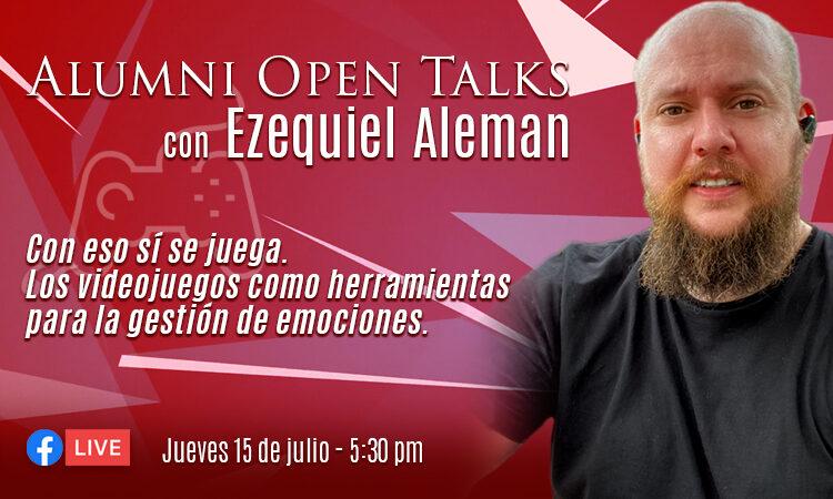 Ezequiel Aleman Alumni Open Talks