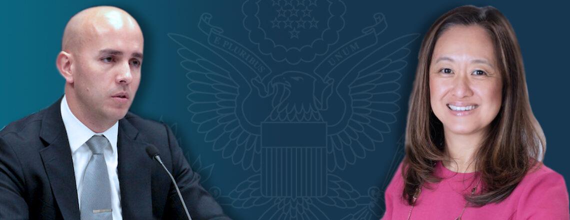 Sostenido interés en fortalecer alianzas: Julie Chung y Juan González visitan Uruguay