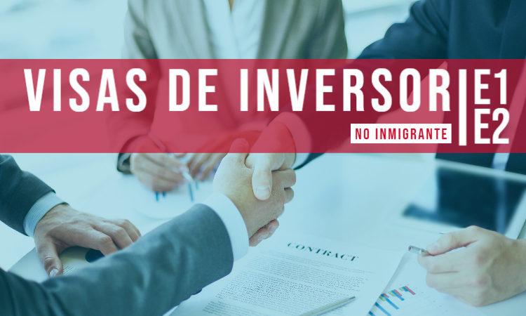 Inversor E2 Visa SPA