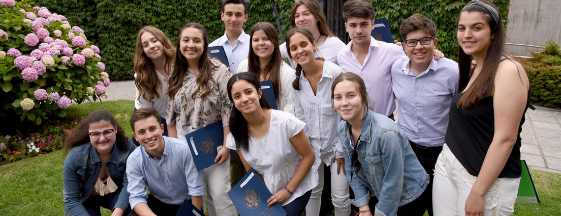 Generación 2020 de Jóvenes Embajadores viaja a Estados Unidos
