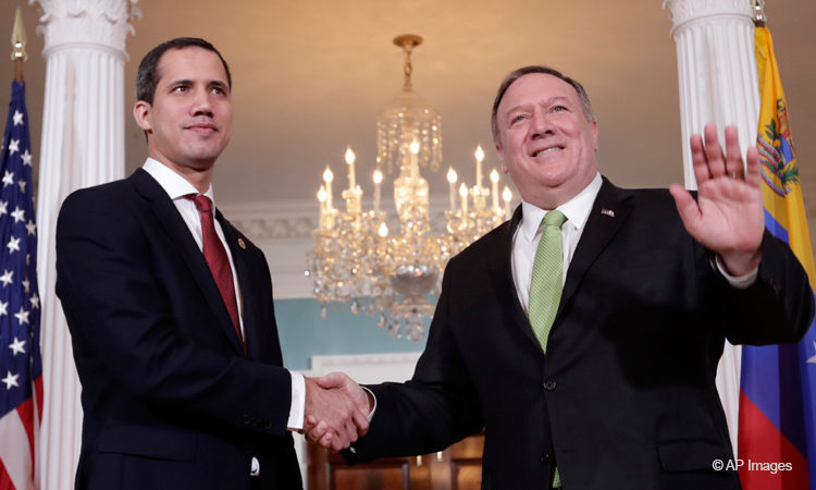 Michael Pompeo-and-Juan-Guaido