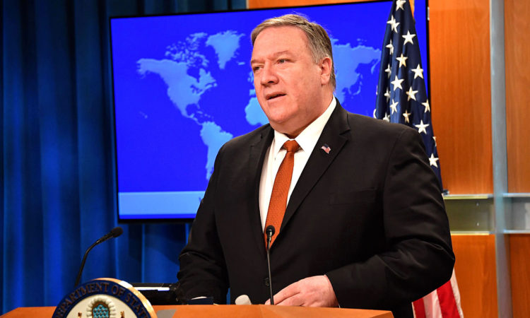 U.S. Secretary of State Michael R. Pompeo
