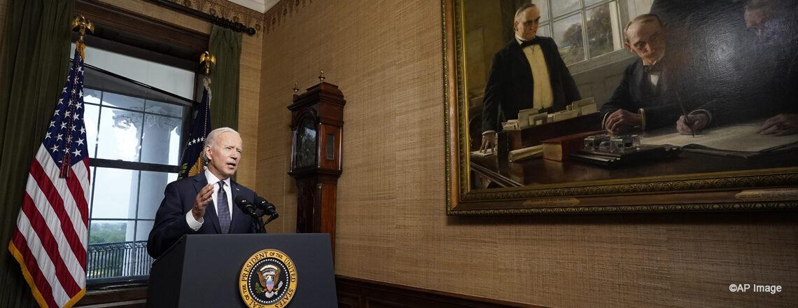 Declaraciones del presidente Biden respecto a las próximas acciones en Afganistán