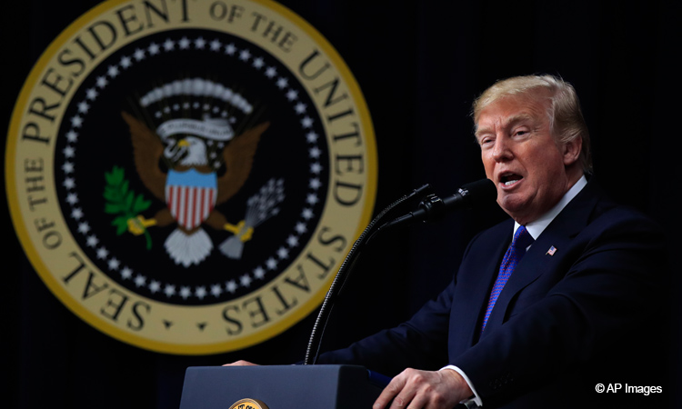 President Trump Remarks (AP Photos)