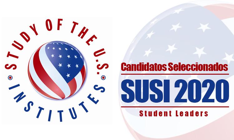 SUSI 2020 Candidatos Seleccionados