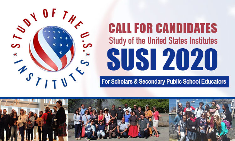 SUSI 2020 Scholars and Educators