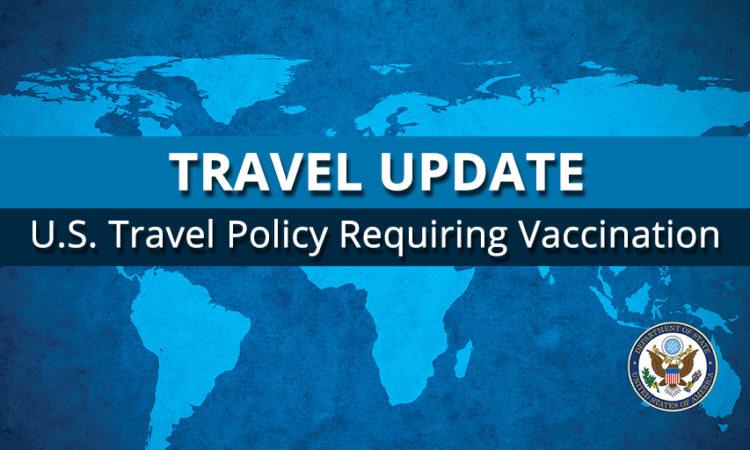 TRAVEL Update Vaccination