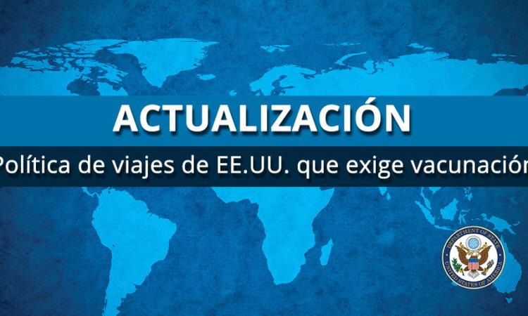 TRAVEL Update Vaccination Spanish