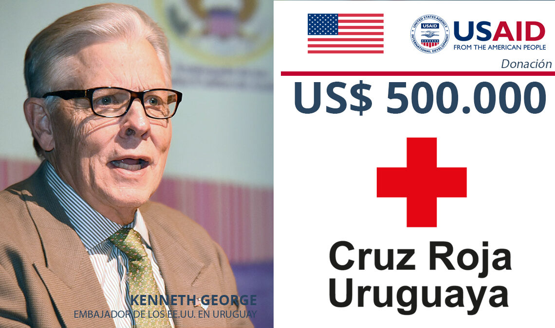 USAID-Donation- Cruz Roja