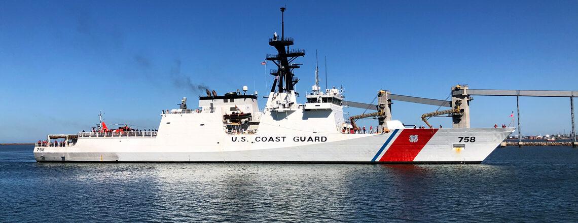Visita del Buque USCG Cutter Stone de la Guardia Costera de EE.UU. al Puerto de Montevideo