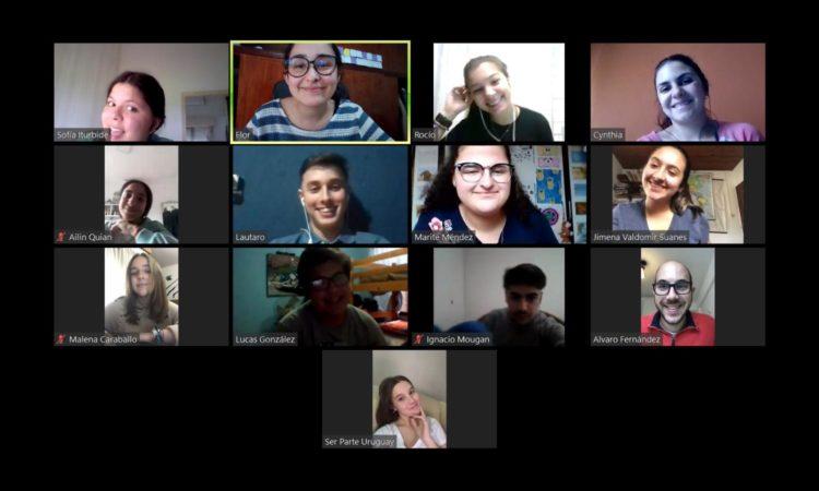 Jovenes Embajadores 2020 zoom