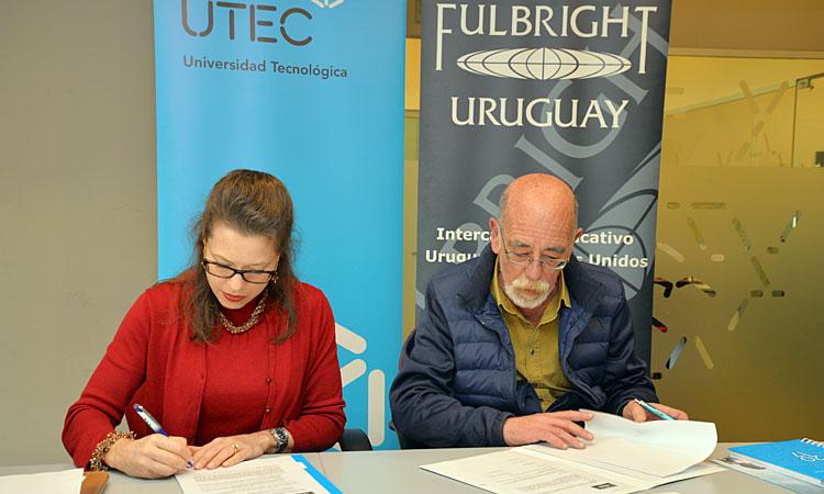 UTEC y la Comisión Fulbright Uruguay