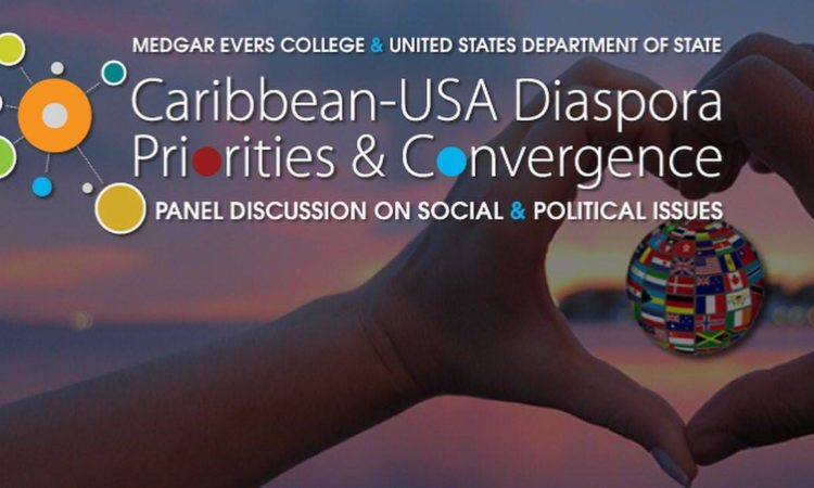 Caribbean USA Diaspora panel discussion banner