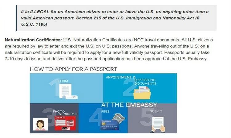 Passport Services | U S  Embassy in Trinidad & Tobago