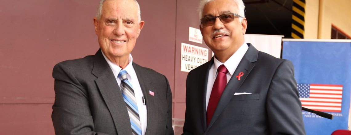 U.S. Government Provides U.S.$2.5M to T&T to Combat HIV/AIDS