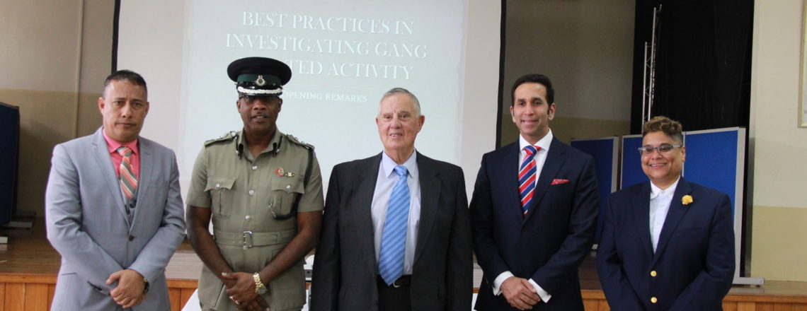 Ambassador Mondello's Remarks at Anti-Gang Workshop