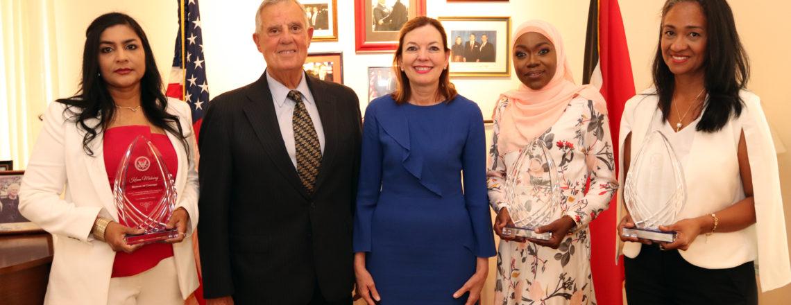 Assistant Secretary Royce honors T&T women creating positive change
