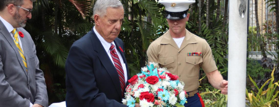 U.S. Embassy observes Memorial Day