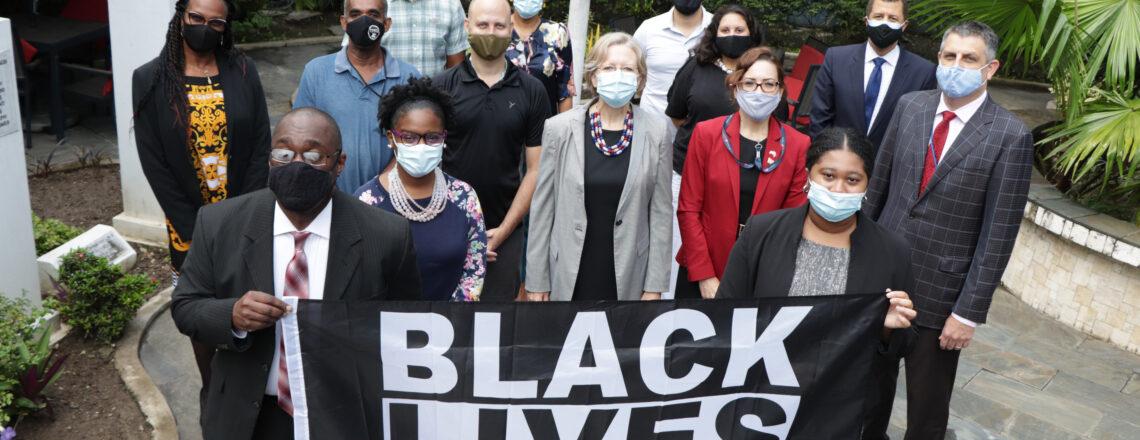 U.S. Embassy Port of Spain Flies Black Lives Matter Flag
