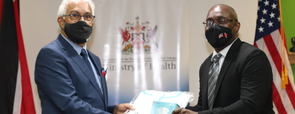 United States Government donates US$37,600 PPE to the Ministry of Health