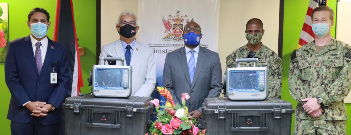 United States Government Donates Critical Healthcare Equipment to the Ministry of Health