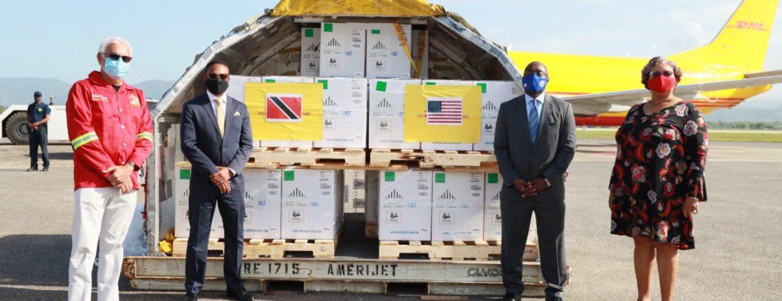 United States Donates 305,370 Pfizer COVID-19 Vaccine Doses to Trinidad and Tobago