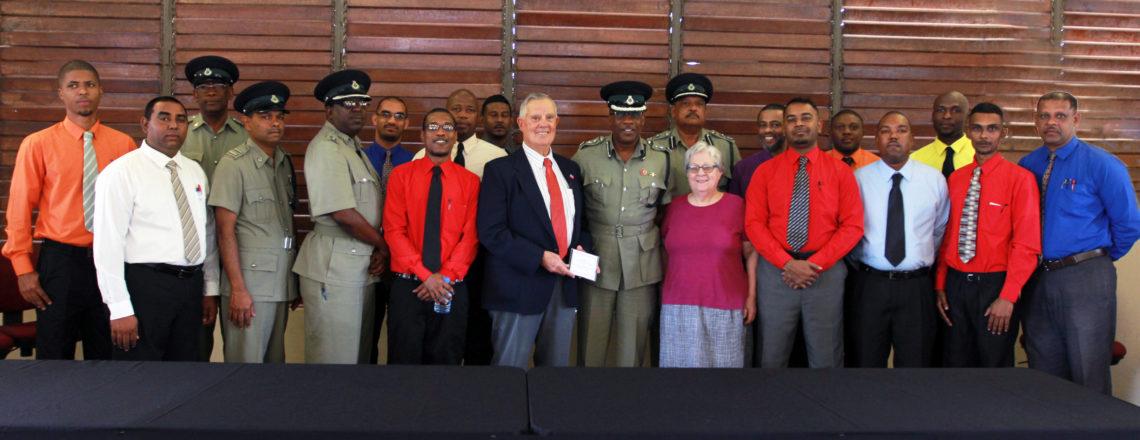 U.S. Ambassador Congratulates Prison Debate Team