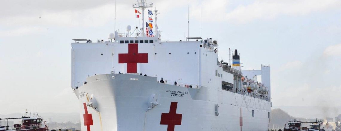 USNS Comfort will offer free medical services in T&T September 5-10