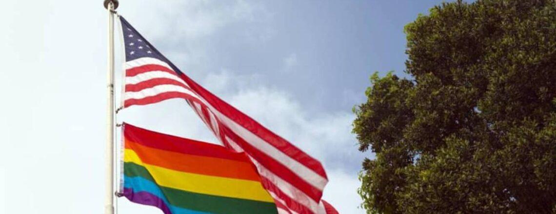U.S. Embassy Port of Spain Flies Pride Flag