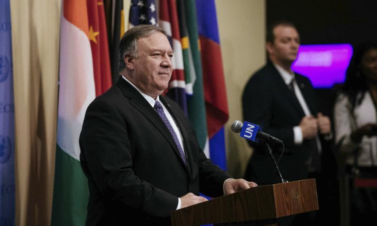 U.S. Secretary of State Mike Pompe
