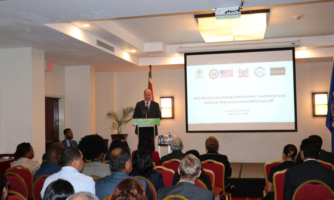 U S  Embassy Paramaribo helps launch Anti-Money Laundering