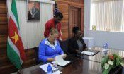U.S. Donates APIS to Suriname-WS