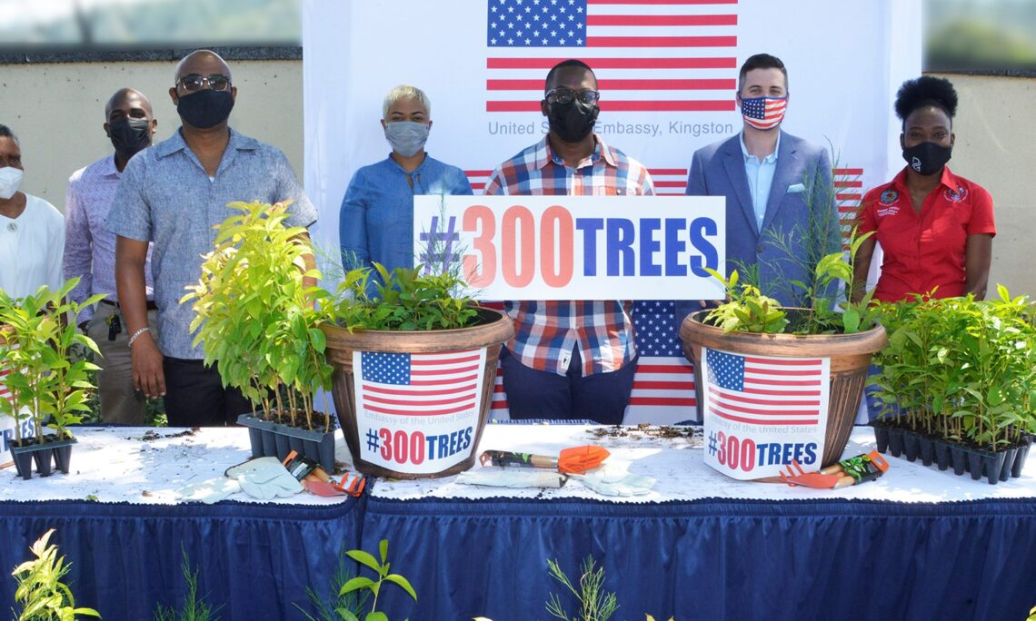 #300Trees Earth Day
