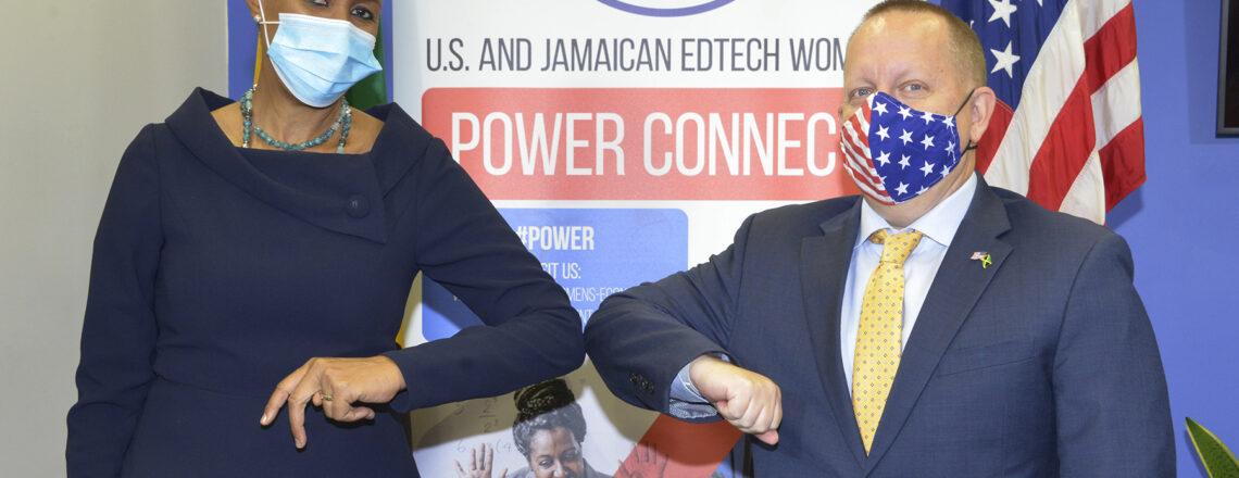 U.S. Embassy Supports Jamaican Women in EdTech