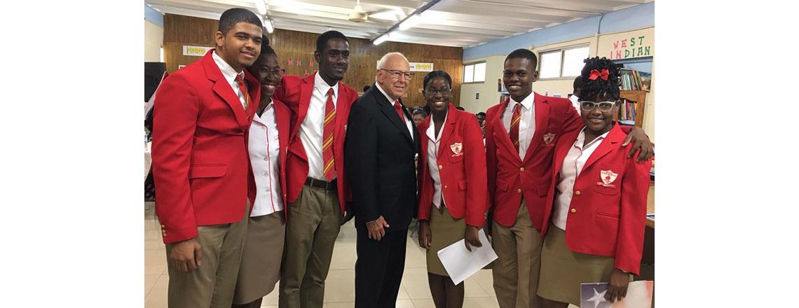 U.S. Ambassador Tapia Kicks Off School Talks