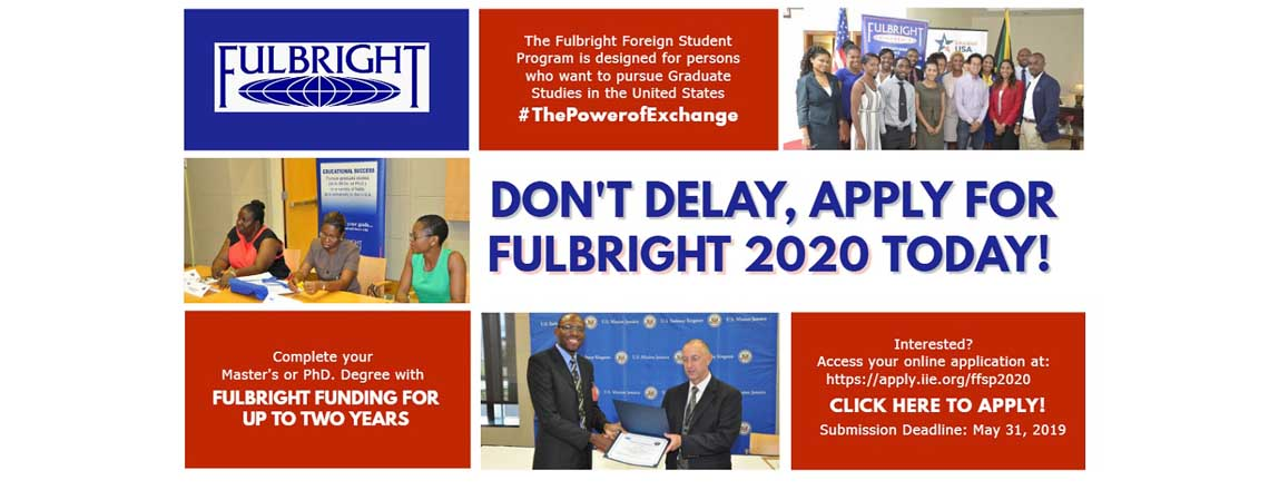 2020 Fulbright Graduate Student Program Application Opens