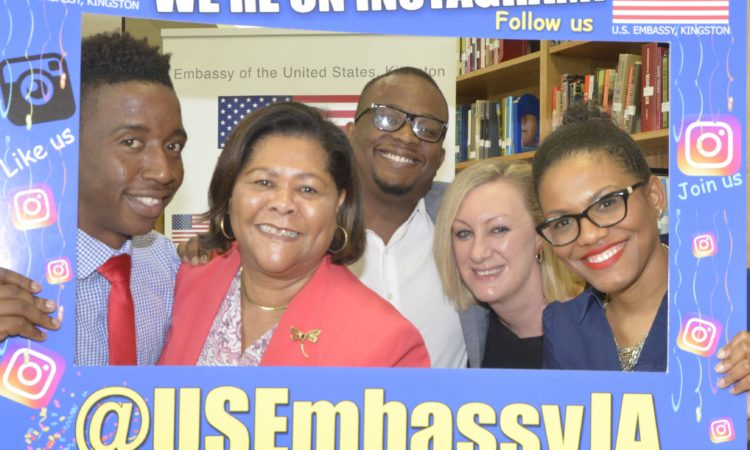 Instagram, US Embassy Kingston, Social Media