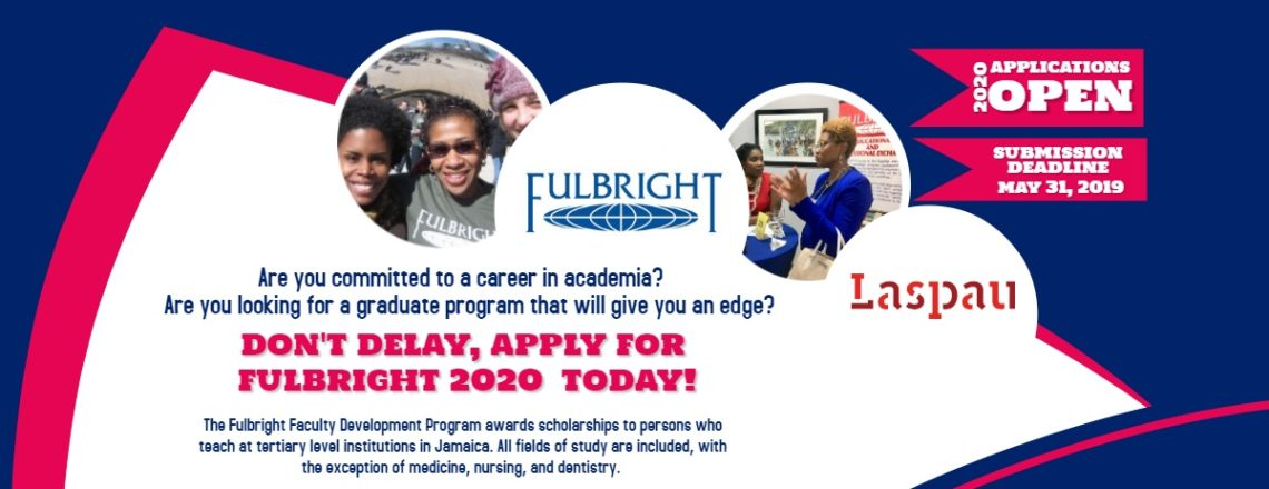 Applications open for 2020 Fulbright LASPSAU