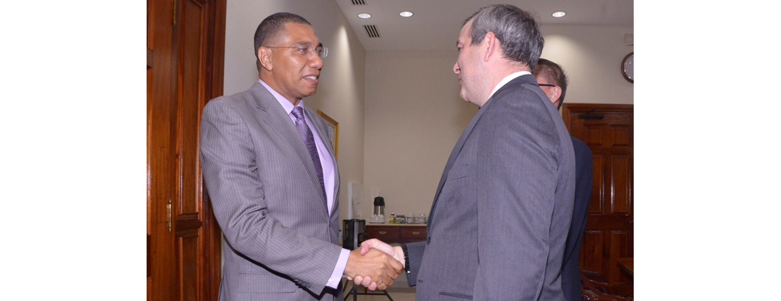 OPIC Acting President & CEO Bohigian Leads Delegation to Jamaica
