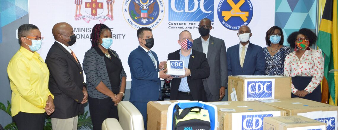 U.S. Government Donates COVID-19 Supplies to Jamaica's Department of Correctional Services
