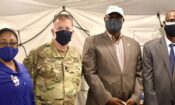US Officials Visit Field Hospital at STH