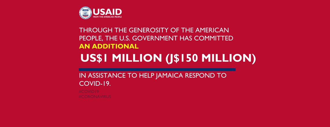 The US Government Gives an Additional $1 Million in COVID-19 Assistance