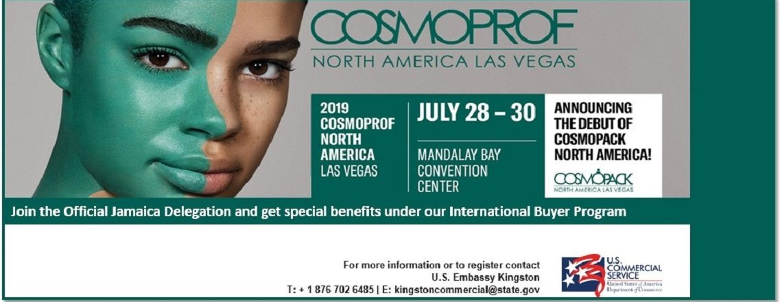 Cosmoprof North America Tradeshow to begin July