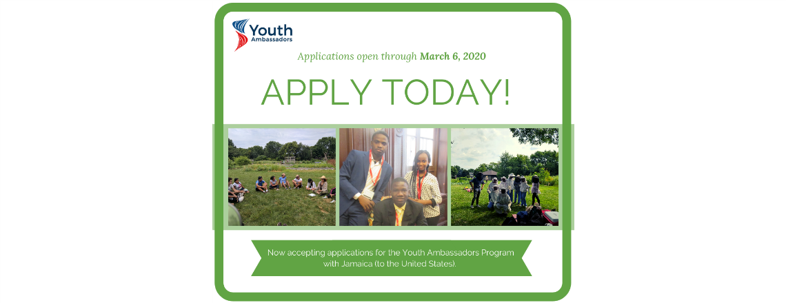Youth Ambassadors Program Caribbean 2020