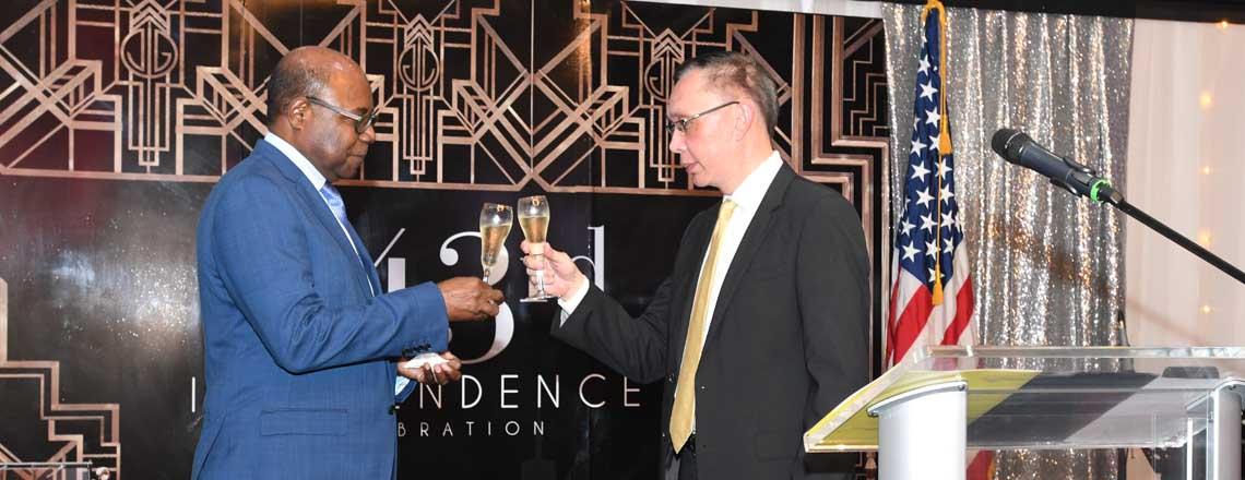 U.S. Embassy celebrates 243rd Anniversary of Independence