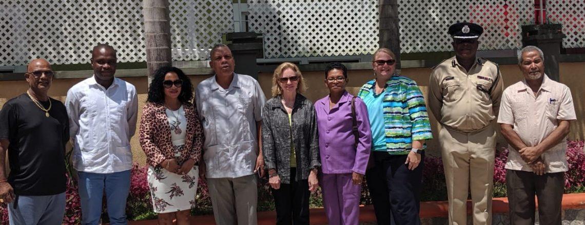 Ambassador Lynch Visits Region Seven